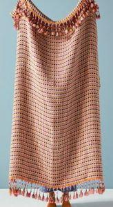 NWT Tasseled Sheila Throw Blanket